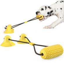 Gougelila  Amazon's new hot-selling sucker corn drawstring dog toy