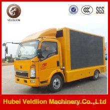 Caminhão móvel da fase do diodo emissor de luz da cor completa exterior de Sino para a venda