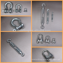 factory price us type high tensile forged shackle G2150 S2150 china supplier