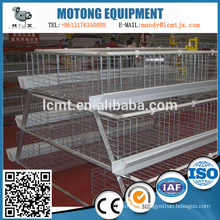 A type layer chicken cage used automation modern farming equipment