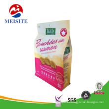 Flat Bottom 3 Layers Laminated Nuts Packaging Bag