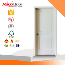 ASICO White Primed China Alibaba Supplier Natural Veneered American Interior Solid Wooden Panel Door For House