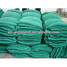 High strength HDPE construction safety net for building