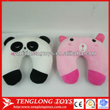 Cute animal shape stuffed pillow comfortable car neck pillow
