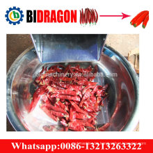 Red and green chili stem removing machine