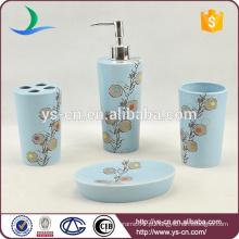 Conjunto exclusivo de banho de cerâmica para uso doméstico