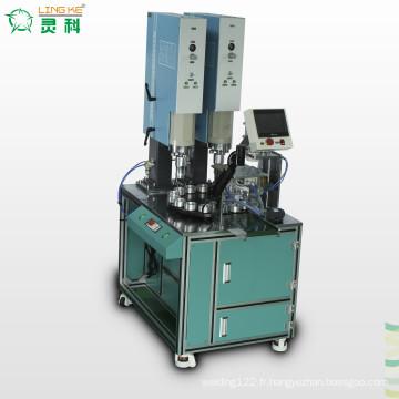Machine de soudure automatique avec la plaque tournée