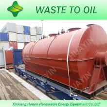 Plástico de Huayin al petróleo Reciclaje del 40% del mercado en India