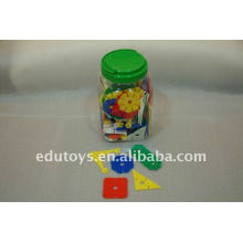 Plastic learning toys Big flower