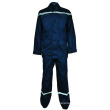 Cotton flame retardant reflective tape suit