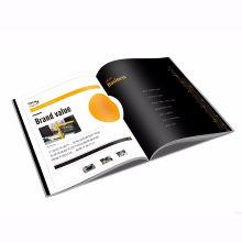 Impressão de revista customizada em cores completas OEM