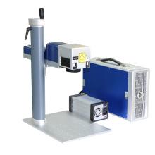 Industrial 50w Fiber Laser Marking Machine For Metal
