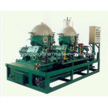 Séparateur centrifuge d'huile de disque 3 séparateurs marins et de mazout de phase avec le CE, CCS