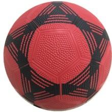 Fútbol de goma de la superficie del Pebble de tres colores