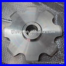 Aço inoxidável Roda dentada de corrente grande