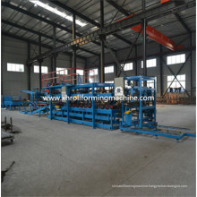 EPS Rock Wool Sandwich Wall Panel Cold Roll Forming Machine