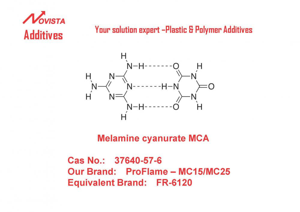 MCA melanine cyanurate 37640-57-6 for PA 6/66