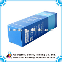 Малая бумажная коробка мода печать с ясной крышкой
