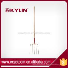 Nueva Condición China Long Handle Spading Gardening Fork Used