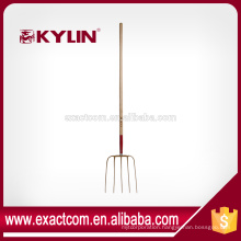 New Condition China Long Handle Spading Gardening Fork Used