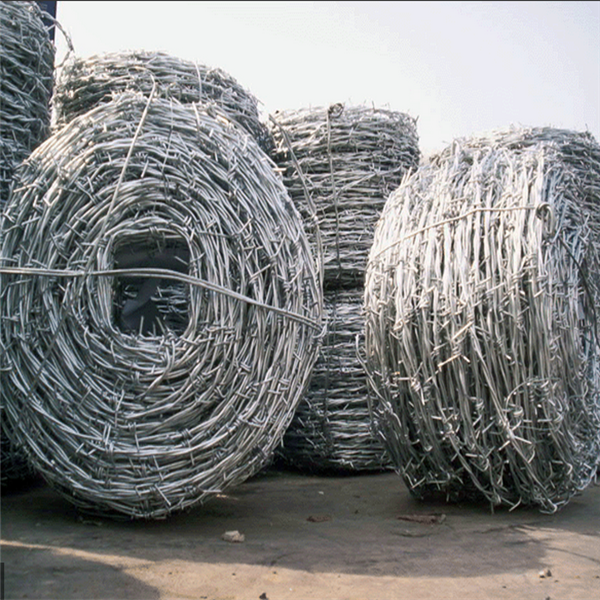 BWG 16 Single Electric Galvanized Barbed Wire