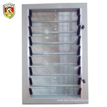 AS/NZ2208 standard luxury single tempered glass louvre blade aluminum window shutters