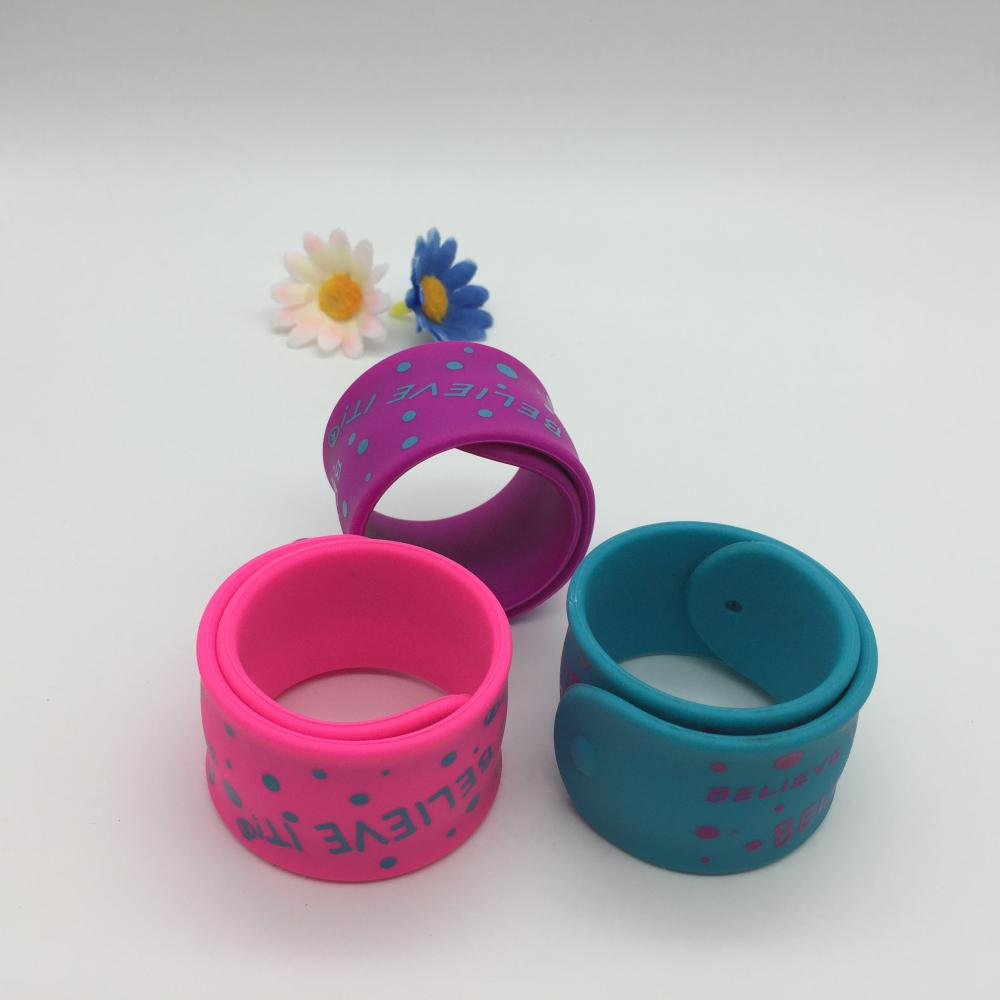silicone slap bands
