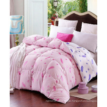 King Bed Wholesale 100% Polyester Good Sell Printed Quilt F1845