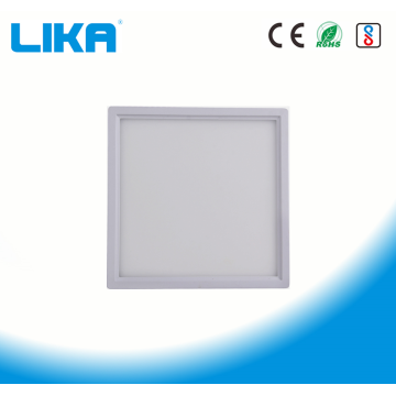 Panel de luz LED montado en superficie cuadrada sin borde de 24W