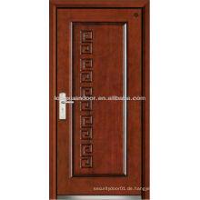 Fabrik Stahl Holz gepanzerte Tür, Holz Feuer Tür