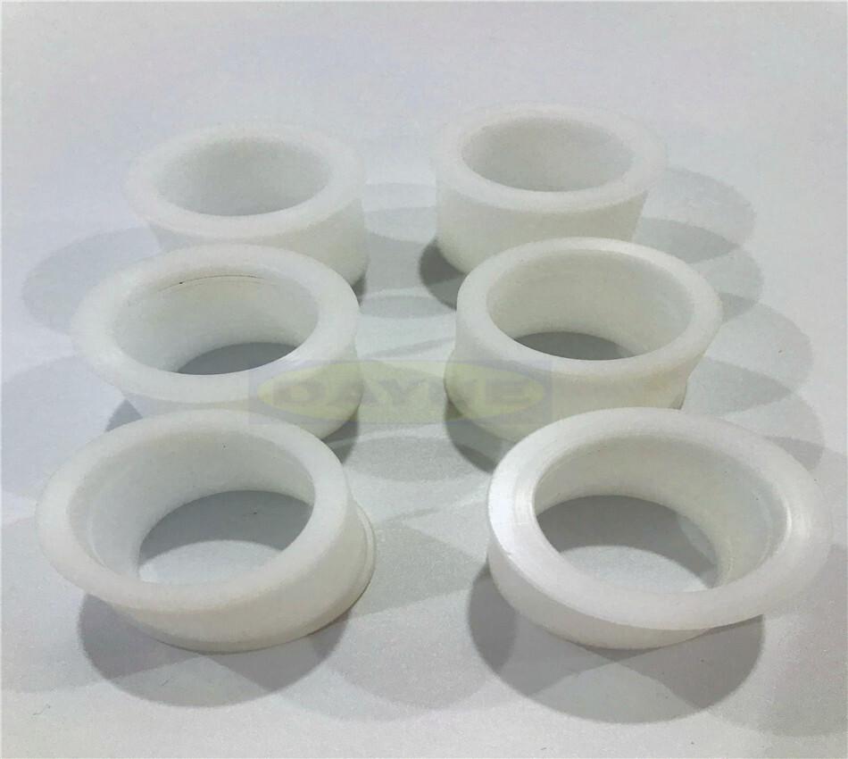 CNC turning machining plastic products PVC parts