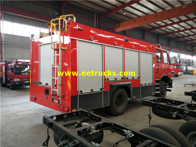 Forest Fire Fighting Trucks