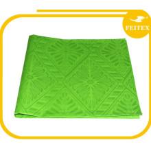 Traditionnel Damas de plusieurs couleurs 5 mètres / sac Tissu africain de caftan de tissu Abaya Damassé de conception de mode 100% coton Jacquard FEITEX