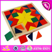 2014 New Wooden Child Puzzle Toys, High Quality Wooden Block Child Puzzle Toys, Hot Sale Wooden Block Child Puzzle Toys W13A049