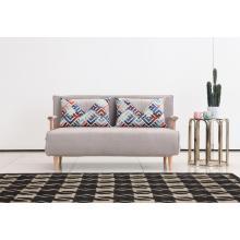 Canapé-lit multifonctionnel en tissu de conception moderne