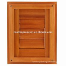 Classic Natural Red Cedar Plantation Adjustable Door Louver Shutters