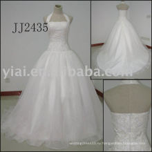 2011 самый последний потрясающий новый реальный прибытия высокого качества кристалл камни мяч stylerystal украшенные свадебные платья 2011 JJ2435