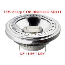 Bombilla LED de 15W LED con luz regulable MAZORCA LED AR111