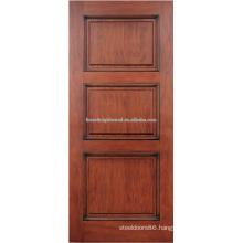3- panel mahogany hardwood door design