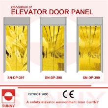 Painel dourado da porta do St. St para a decoração da cabine do elevador (SN-DP-397)