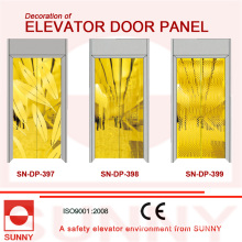St. St Golden Door Panel for Elevator Cabin Decoration (SN-DP-397)