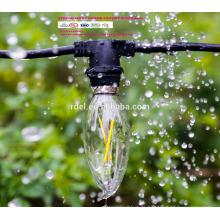 Extension Cordon 21 ampoules Intempéries 48Ft UE UK Plug LED Globe Décoratif Chaîne Extérieure Lumières SLT-161