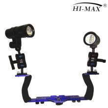 Unterwasser wasserdichtes Video Licht Lichtsystem für GoPro Hero 2 3 3+ 4