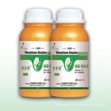 Безопасный высокоэффективный гербицид 5% Мезотрион + атразин20% Ec