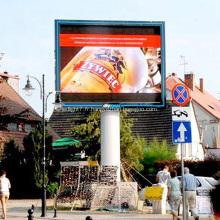 Écran d'affichage à LED DIP polychrome
