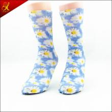 Printed Leaf Socks Custom Made Design Printing