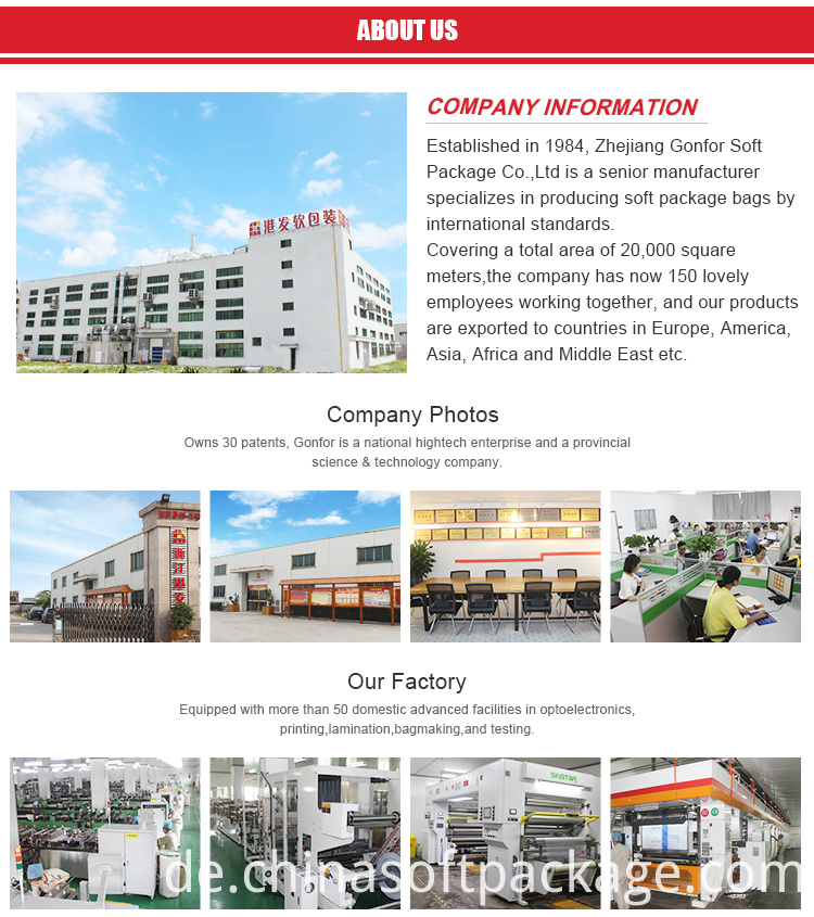 Gonfor Package company information