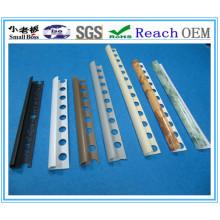 Guarnições da telha do PVC, guarnições plásticas da afiação