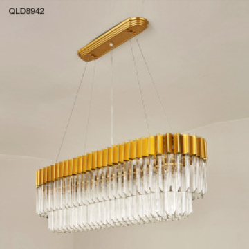 lampu gantung modern indoor lighting gold pendant light