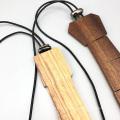 Logotipo personalizado grabado Sapelli Men Wood Necktie